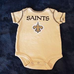 NFL Team New Orleans Saints Onesie 100% Cotton